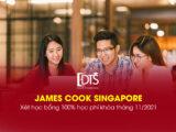 Đai học James Cook Singapore xét học bổng 100% khóa tháng 11